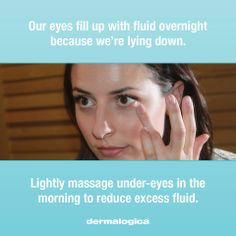 puffy eyes?  #CLDerm #Beauty