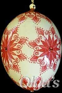 Christmas Ornament Egg.