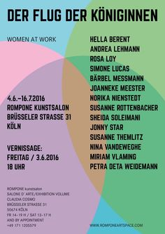 DER FLUG DER KÖNIGINNEN women at work | EVENT | posted by Jonny Star