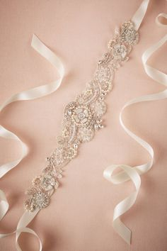BHLDN Madison Sash in  Shoes & Accessories Belts & Sashes at BHLDN
