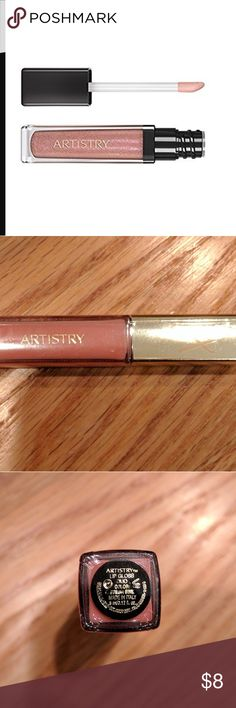 Artistry Pink Lip Gloss Brand new sealed 5.0 ml bottle of Artistry lip gloss in a light, soft shade of pink.  Gloss shimmers; made in Italy. Artistry Makeup Lip Balm & Gloss