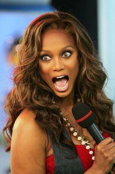 The beautiful Tyra Banks