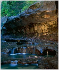 North Creek Basin, Zion National Park, Utah
