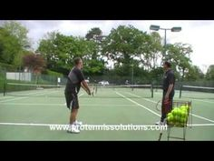 Improve tennis serve - tips and drills - serve like federer murray