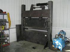Monster press-brake
