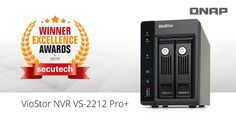 QNAP VioStor NVR VS-2212 Pro+ Honored with Secutech Excellence Award 2015
