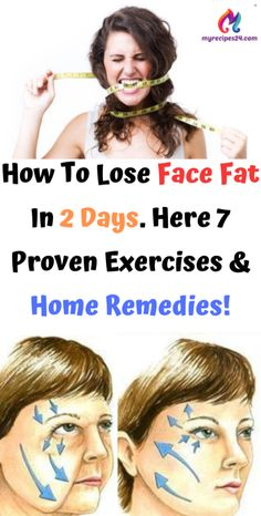 to Health diet How To Lose Face Fat In 2 Days. Here 7 Proven Exercises & Home Remedies! How To Lose Face Fat In 2 Days. Here 7 Proven Exercises & Home Remedies! Sante Plus, Facial, Endocannabinoid System, Group Boards, 4c Hair, Bodybuilding Motivation, Aquaponics, Easy Workouts, Fett