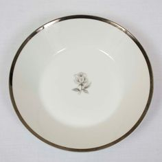 Imperial Wentworth Queen Anne 8 Bowl - Listing is for ONE bowl. - Silver edges show minimal wear.