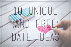 10 Unique (and free) Date Ideas