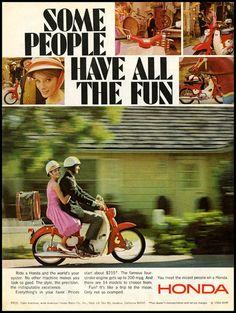Honda ad; 1966