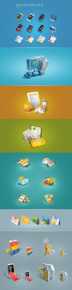 Various Icons vol.3 on Behance