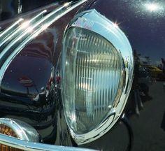 1938 Chrysler headlight.  Photography by David E. Nelson
