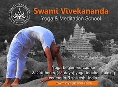 Yoga Courses, Yoga Teacher Training Course, Swami Vivekananda, Rishikesh, Yoga For Beginners, Yoga Meditation, Couch, Exercise, Easy