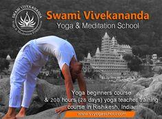 Yoga Courses, Yoga Teacher Training Course, Swami Vivekananda, Rishikesh, Yoga For Beginners, Yoga Meditation, Couch, Exercise, Easy