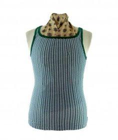 """70s Green Vintage Vest #vintagefashion #vintage #retro #vintageclothing #90s #1990s #vintagetshirts <link rel=""""canonical"""" href=""""http://www.blue17.co.uk/>"""