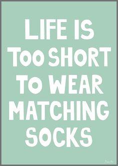 Caro! Miniwilla Matching Socks Print