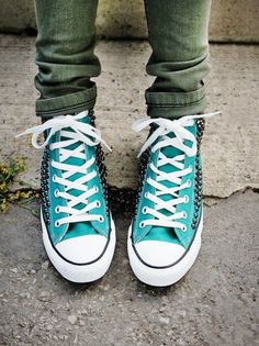 3017b5d8149b Shop for Converse Womens Tommy Studded Chucks at ShopStyle.