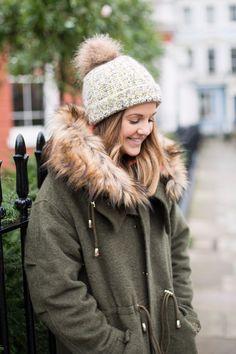 Winter bobble hat