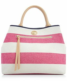 Tommy Hilfiger Mother's Day Rugby Striped Shopper