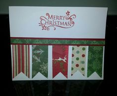 STAMPIN UP CHRISTMAS CARD.
