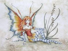 Fairy Art Artist Amy Brown: The Official Online Gallery. Fantasy Art, Faery Art, Dragons, and Magical Things Await. Amy Brown Fairies, Elves And Fairies, Faerie Costume, Autumn Fairy, Fairy Figurines, Fairy Art, Beautiful Artwork, Faeries, Art Reference