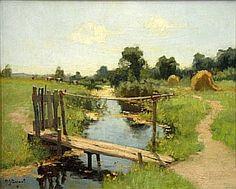 images/stories/gallery/Impressionisme_Landschappen_Arie_Zwart_Bruggetje_bij_Gouda.jpg