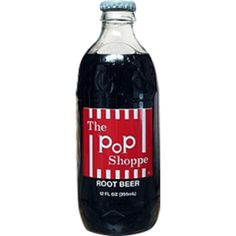 Pop Shoppe Root Beer | Retro Candy, Glass Bottle Sodas & Quirky Gifts - Blooms Candy & Soda Pop Shop