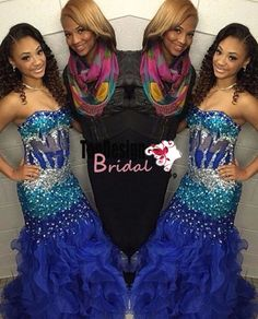 Shop affordable Modern Strapless Royal Blue 2018 Prom Dresses Crystal Organza Mermaid Party Gowns at June Bridals! Over 8000 Chic wedding, bridesmaid, prom dresses & more are on hot sale. Prom Dresses 2015, Mermaid Prom Dresses, Prom Party Dresses, Party Gowns, Dress Prom, Dancing Dolls Bring It, Celebrity Gowns, Cheap Formal Dresses, Sweetheart Prom Dress