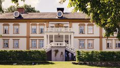 Hillringsbergs herrgård, värmland bröllop, sweden, [Photo by Anna Lauridsen Kullafoto]