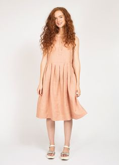 PLEATED SUMMER DRESS - peppermint magazine
