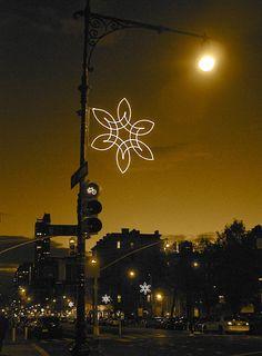 Holiday Lights Upper West Side New York