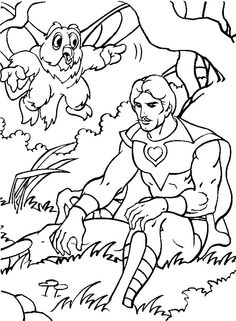 He man coloring page he man and the masters of the for Masters of the universe coloring pages