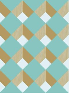 aqua diamond tiles http://decdesignecasa.blogspot.it #dinndesign #graphicdesign