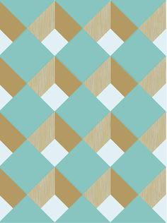 aqua diamond tiles http://decdesignecasa.blogspot.it #dinndesign #graphicdesign