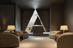 Welcome Area at Armani Hotel Milan