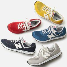 定番のレトロスタイルが人気のニューバランス New Balance カジュアルスニーカー / old school sneaker on ShopStyle