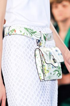 Tory Burch Spring 2014 - cute idea, not sure that I wear it