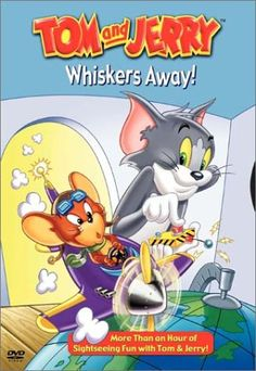 Tom and Jerry: Whiskers Away![CDATA[Tom and Jerry: Whiskers Away/pCatch everyone's favorite cat and mouse team as they race from one exciting adventure to another in this world-class collection of unforgettable episodes! Hanna Barbera, William Hanna, Tom Y Jerry, Tex Avery, The Hollywood Bowl, Disney Toms, Cat Mouse, Thing 1, Comic Book Characters