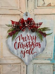 Country Christmas Decorations, Farmhouse Christmas Decor, Rustic Christmas, Christmas Diy, Christmas Crafts To Make And Sell, Wooden Christmas Crafts, Holiday Decorating, Farmhouse Decor, Dollar Tree Christmas
