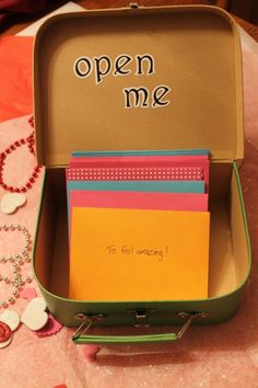 A set of letters for your teen pre-written for them to open when they are dealing with various situations!! What a great way to make sure that they have your support, wisdom, and guidance even when they don't come to you in person!!