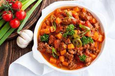 Χοιρινό Κοκκινιστό Diet Recipes, Healthy Recipes, Chili Recipes, Turkey Recipes, Delicious Recipes, Vegetarian Recipes, Chili Ingredients, Pumpkin Chili, Sweet Potato Chili