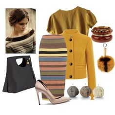 Untitled #984 by doinacrazy on Polyvore featuring polyvore fashion style Schumacher Topshop Casadei Tom Ford Fendi clothing Winter Skirt Outfit, Skirt Outfits, Winter Outfits, Fendi Clothing, Schumacher, Tom Ford, Polyvore Fashion, Winter Hats, Topshop
