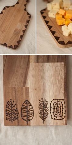 Make something for Mother's Day. Like these Etched Cutting Boards.