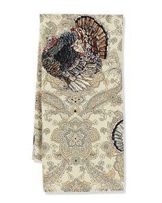 Turkey Paisley Print Towels #williamssonoma