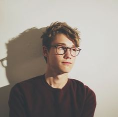 boy, glasses, and cute image, Ritchie Ollie