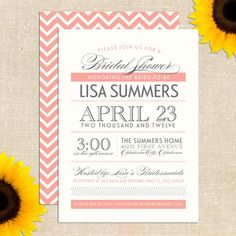 Maggie Bridal Shower  Printed Invitations by YellowBrickGraphics, $20.00