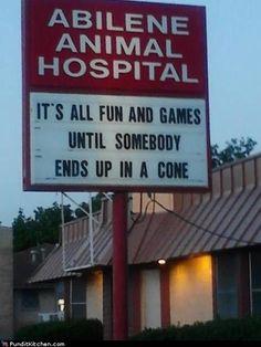 the cone of doom.