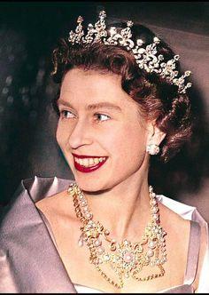La reine Elizabeth II à Londres (1961)