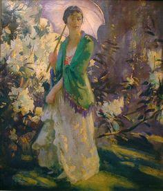 Galerii de arta: Summertime in the Garden, paintings