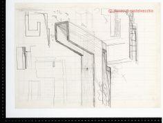 Disegni Carlo Scarpa - 31561r